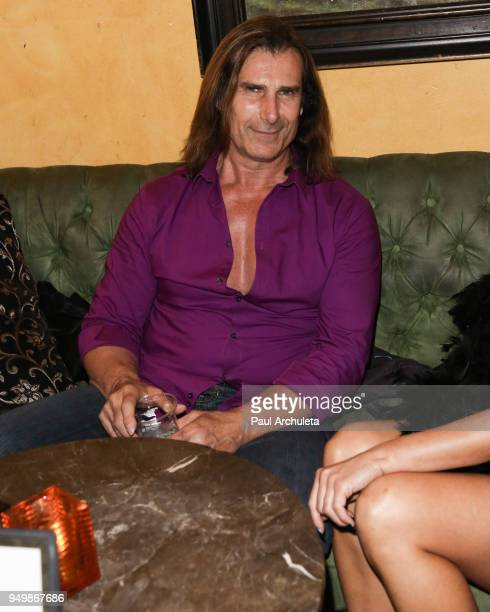 Model / Actor Fabio Lanzoni attends the Babes In Toyland's Halfway To Halloween costume party at Bardot on April 21 2018 in Hollywood California