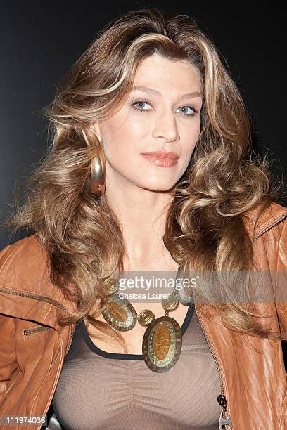 Model / actress Amber Smith attends day 2 of the Reality Rocks Expo at Los Angeles Convention Center on April 10 2011 in Los Angeles California