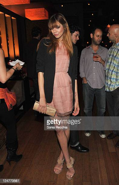 Model/ actress Analeigh Tipton arrives at Sony Pictures Classics 20th Anniversary Party at the 2011 Toronto International Film Festival on September...