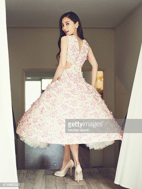 Model actress and singer Angela Yeung aka Angelababy is photographed on May 16 2015 in Cannes France