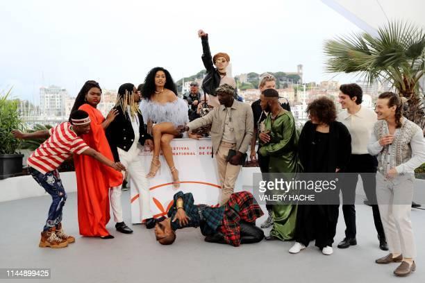 US model actress and trangender activist Jari Jones US actress model and transgender activist Leyna Bloom US film director Danielle Lessovitz and...
