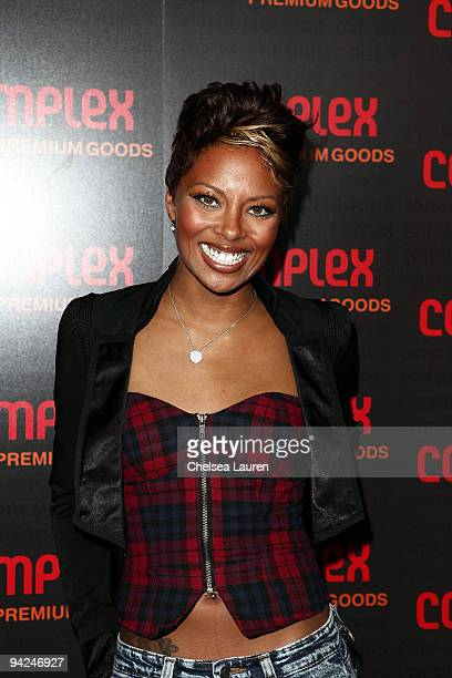 Model / actress Eva Marcille arrives at the 2009 Complex Premium Goods Event at MyHouse Nightclub on December 9 2009 in Hollywood California