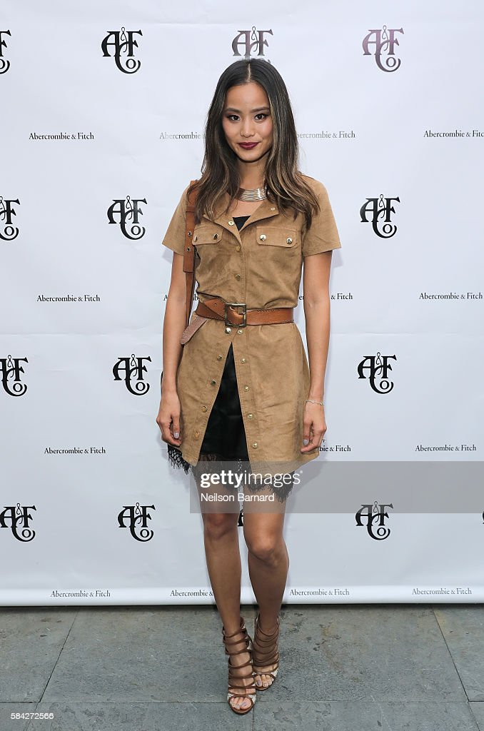 Model, actress Jamie Chung at Abercrombie & Fitch Summer Rooftop Party at Gallow Green Rooftop on July 28, 2016 in New York City.