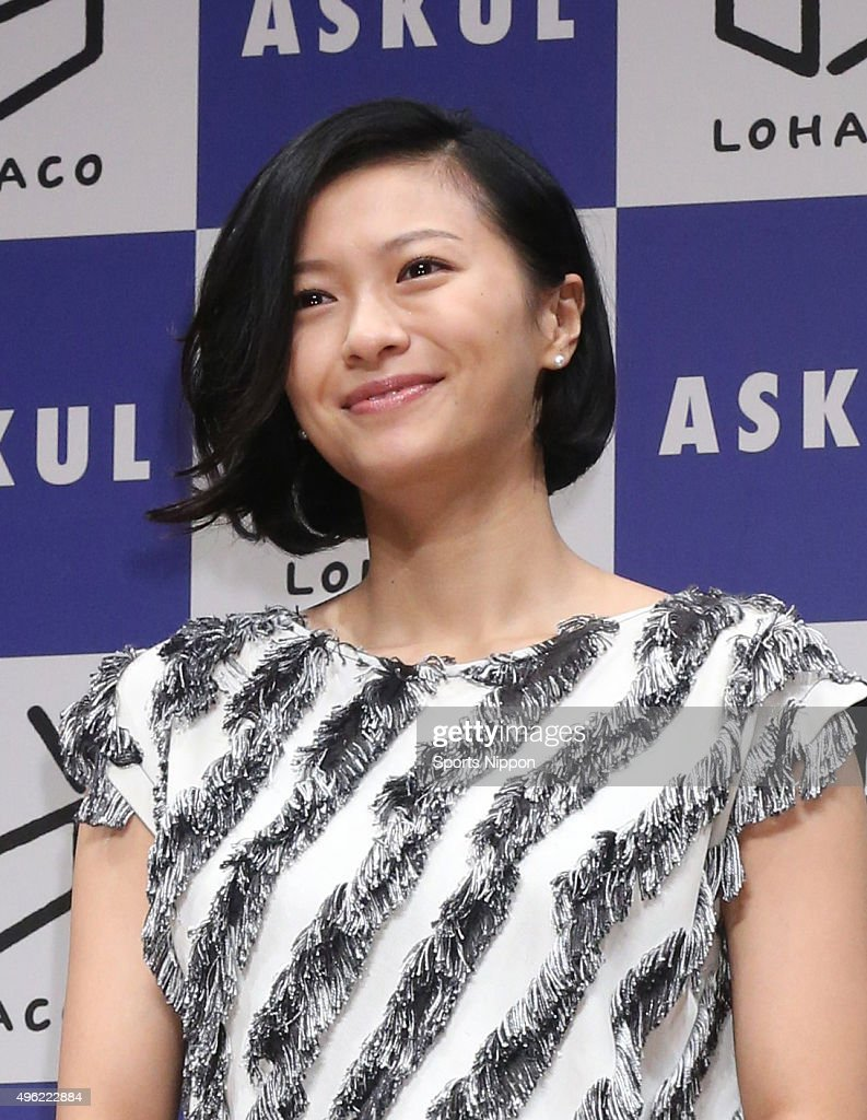 Nana Eikura Attends Press Conference In Tokyo : News Photo
