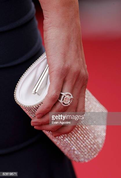 Model Adriana Karembeu attends a screening of 'Where the Truth Lies' at the Grand Theatre during the 58th International Cannes Film Festival May 13...