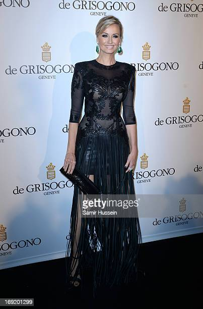 Model Adriana Karembeu attends the 'De Grisogono' Party during The 66th Annual Cannes Film Festival at Hotel Du Cap Eden Roc on May 21 2013 in...