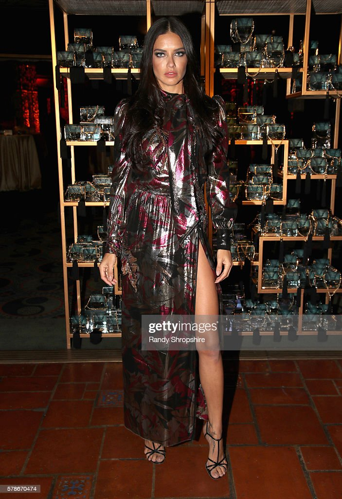 Model Adriana Lima attends Marc Jacobs celebrates Divine Decadence on July 21, 2016 in Los Angeles, California.