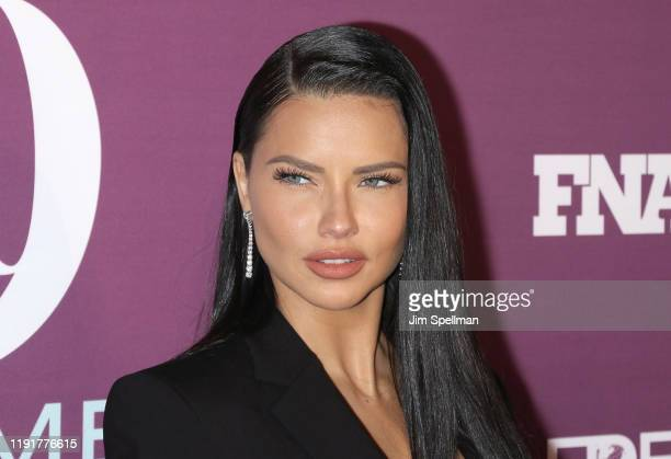 Model Adriana Lima attends the 2019 FN Achievement Awards at IAC Building on December 03, 2019 in New York City.
