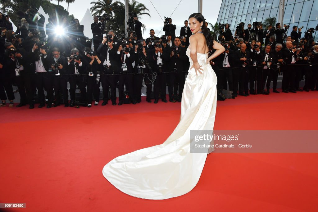 Model Adriana Lima attends the screening of 'Burning' during the 71st annual Cannes Film Festival at Palais des Festivals on May 16, 2018 in Cannes, France.