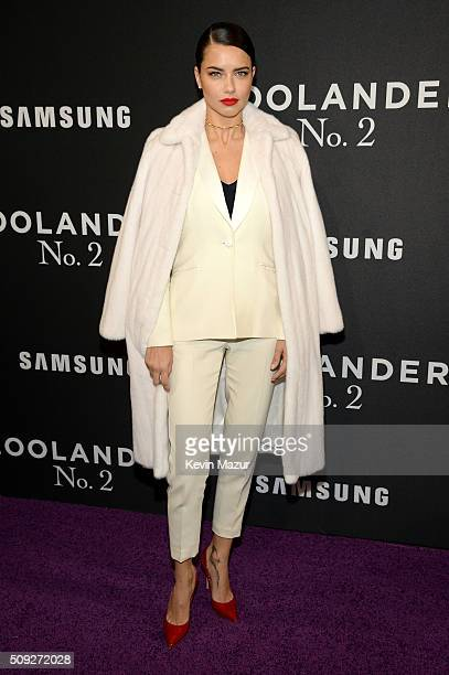 Model Adriana Lima attends the Zoolander 2 World Premiere at Alice Tully Hall on February 9 2016 in New York City