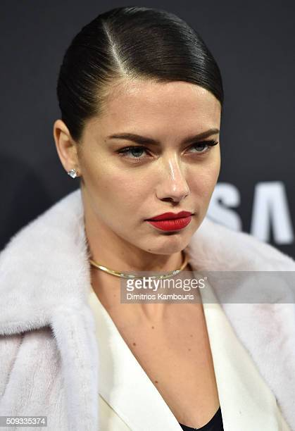 Model Adriana Lima attends the 'Zoolander 2' World Premiere at Alice Tully Hall on February 9 2016 in New York City