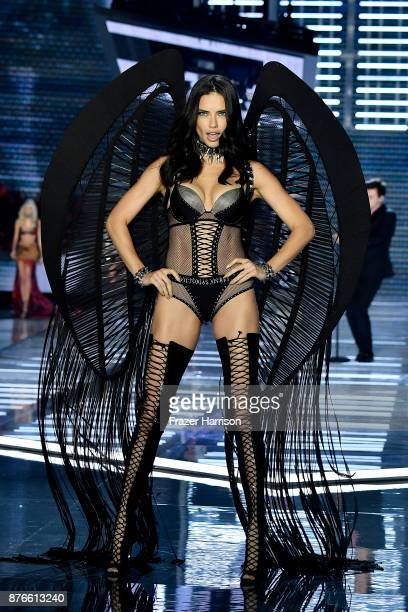 Model Adriana Lima walks the runway during the 2017 Victoria's Secret Fashion Show In Shanghai at MercedesBenz Arena on November 20 2017 in Shanghai...