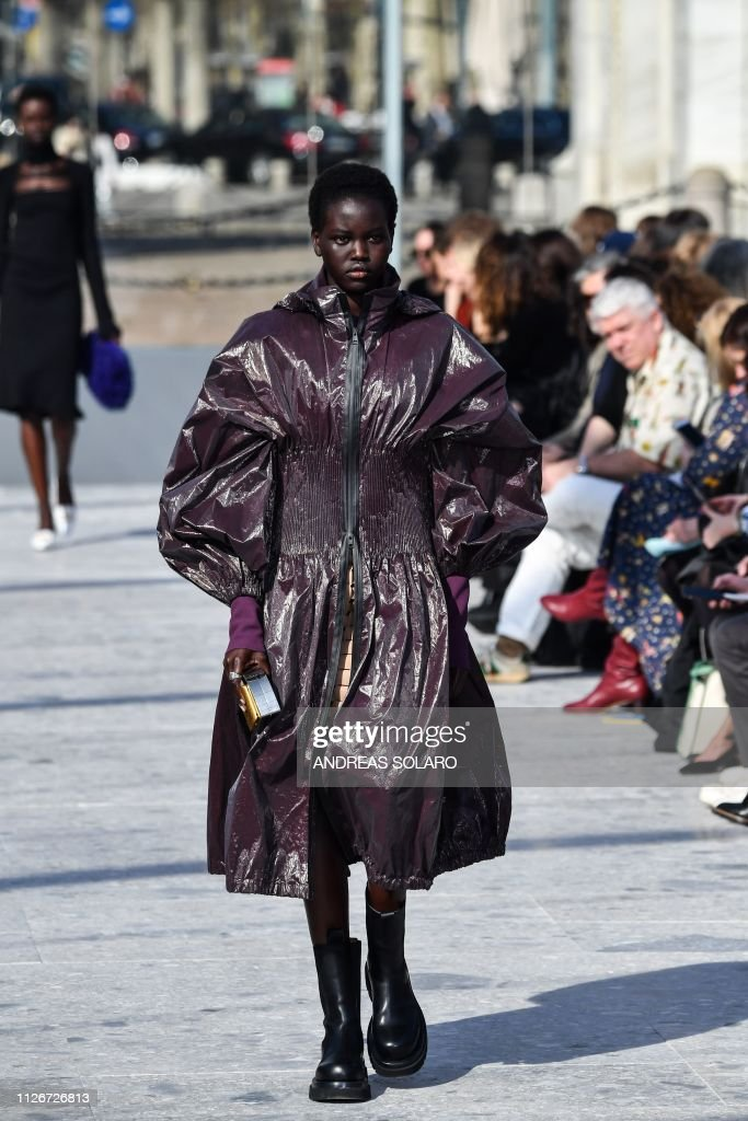 ITA: Bottega Veneta - Runway: Milan Fashion Week Autumn/Winter 2019/20