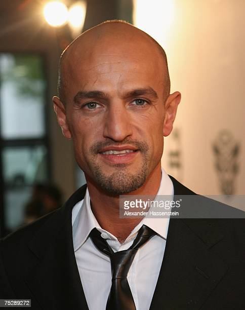 Model Agent Peyman Amin arrives at the GQ fashion show during the GQ style night at the Wappenhalle July 9, 2007 in Munich, Germany.