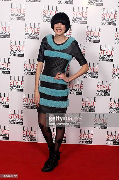 Model Agyness Deyn arrives at the ELLE Style Awards 2010 at the Grand Connaught Rooms on February 22, 2010 in London, England.