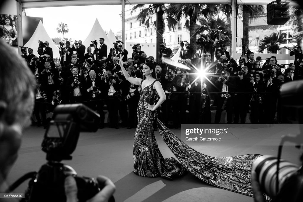 Model Aishwarya Rai attends the screening of 'Girls Of The Sun ' during the 71st annual Cannes Film Festival at on May 12 2018 in Cannes Franc