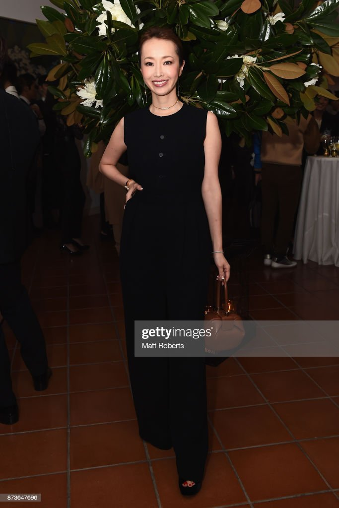 Model Aki Weng attends the Michael Kors And Vogue Japan Celebrate Kate Hudson's Work With Watch Hunger Stop In Support Of The World Food Programme on November 13, 2017 in Tokyo, Japan.
