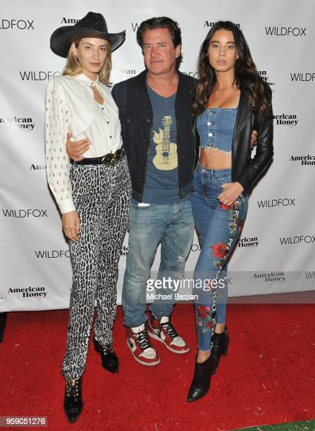 Model Alana Greszata CEO of Wildfox Jimmy Sommers and Model Josey Auguste attend the Wildfox American Honey Launch at the Wildfox Flagship Store on...