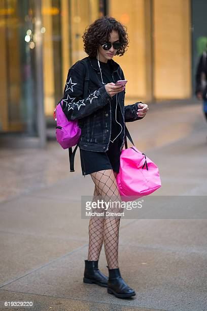 Model Alanna Arrington attends the 2016 Victoria's Secret Fashion Show model fittings on October 30 2016 in New York City