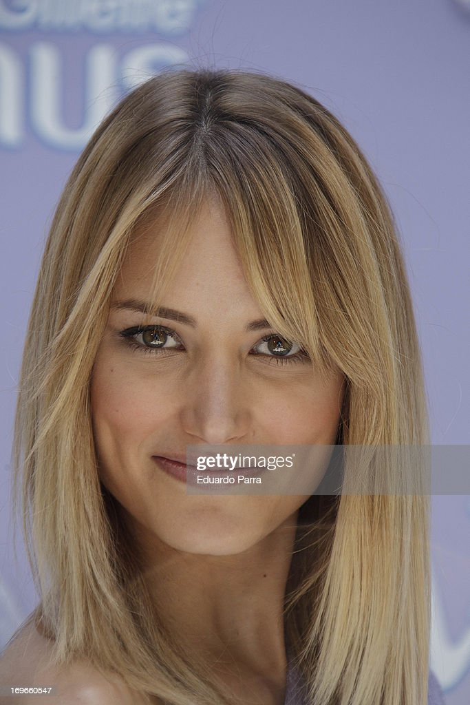 Model Alba Carillo attends 'Yo soy de Venus' by Gillette photocall at San Marcos Foundation on May 30, 2013 in Madrid, Spain.
