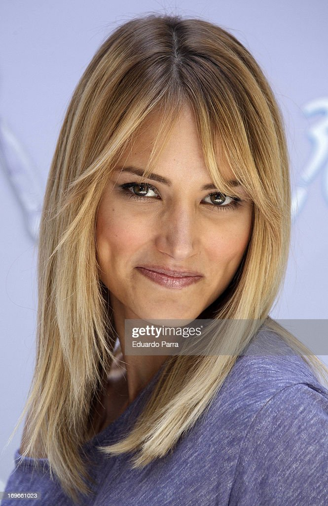 Model Alba Carrillo attends 'Yo soy de Venus' by Gillette photocall at San Marcos Foundation on May 30, 2013 in Madrid, Spain.