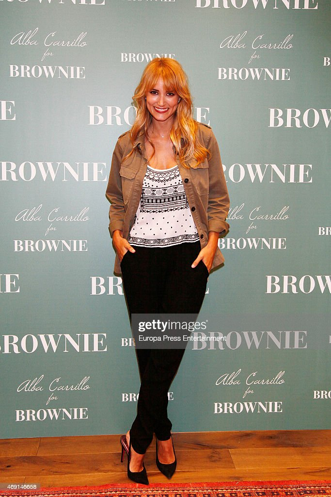 Alba Carrillo New Ambassador For Brownie