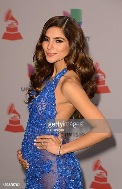 Model Alejandra Espinoza attends the 15th Annual Latin GRAMMY Awards at the MGM Grand Garden Arena on November 20 2014 in Las Vegas Nevada