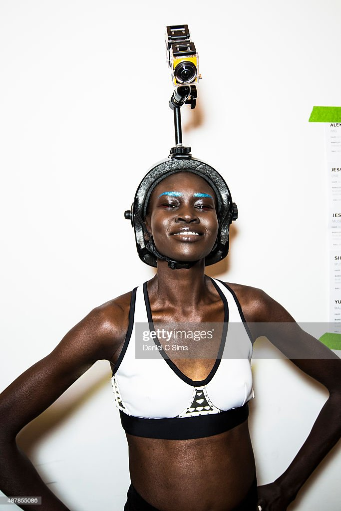 Chromat Featuring Intel Collaboration - Backstage - Spring 2016 MADE Fashion Week
