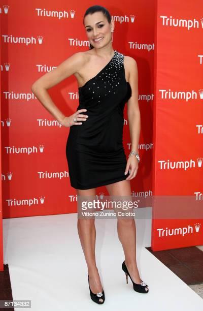 Model Alena Seredova attends the Triumph Inspiration Award on May 12 2009 in Milan Italy