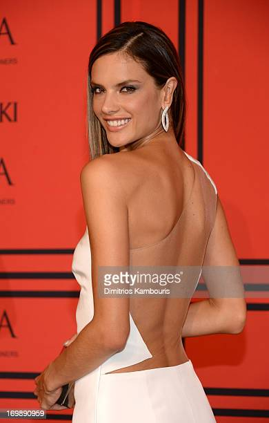 Model Alessandra Ambrosio attends 2013 CFDA Fashion Awards at Alice Tully Hall on June 3 2013 in New York City