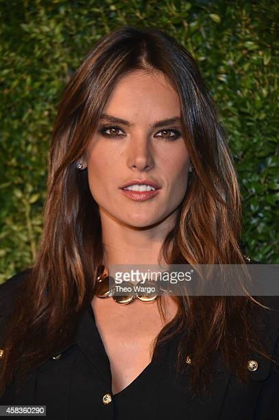 Model Alessandra Ambrosio attends the 11th annual CFDA/Vogue Fashion Fund Awards at Spring Studios on November 3 2014 in New York City