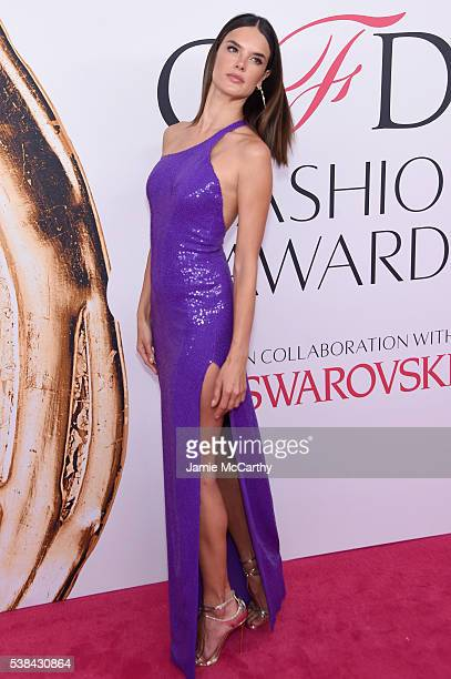 Model Alessandra Ambrosio attends the 2016 CFDA Fashion Awards at the Hammerstein Ballroom on June 6 2016 in New York City