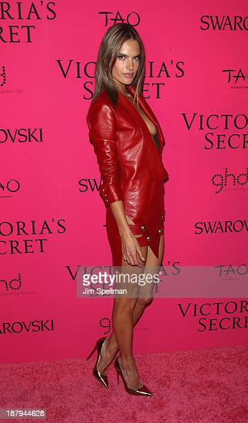Model Alessandra Ambrosio attends the after party for the 2013 Victoria's Secret Fashion Show at TAO Downtown on November 13 2013 in New York City