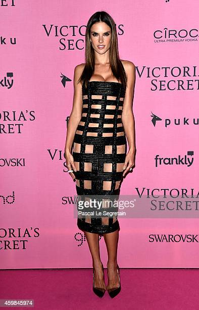 Model Alessandra Ambrosio attends the after party for the annual Victoria's Secret fashion show at Earls Court on December 2 2014 in London England