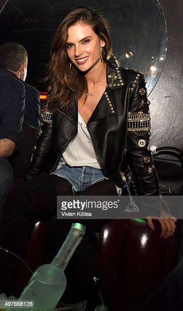 Model Alessandra Ambrosio attends The Official Viper Room ReLaunch Party With Performance By X Ambassadors Dj Set By Zen Freeman at The Viper Room on...