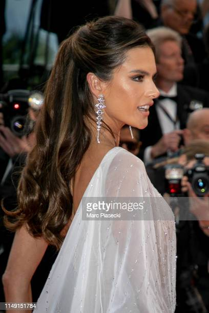"""Model Alessandra Ambrosio attends the opening ceremony and screening of """"The Dead Don't Die"""" during the 72nd annual Cannes Film Festival on May 14,..."""