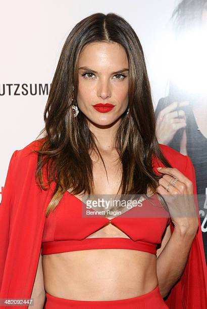 Model Alessandra Ambrosio attends the Schutz Summer 2014 Collection Launch at Schutz on April 2 2014 in New York City
