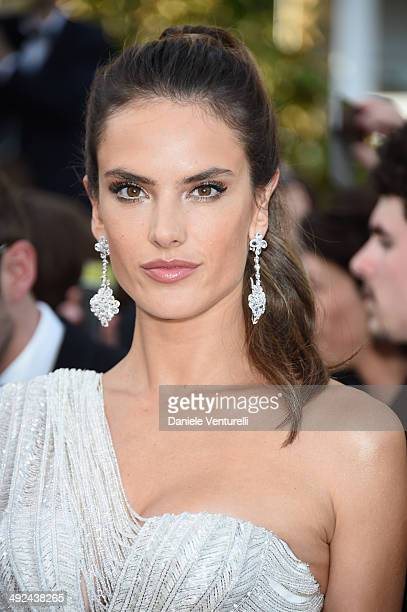 Model Alessandra Ambrosio attends the 'Two Days One Night' premiere during the 67th Annual Cannes Film Festival on May 20 2014 in Cannes France