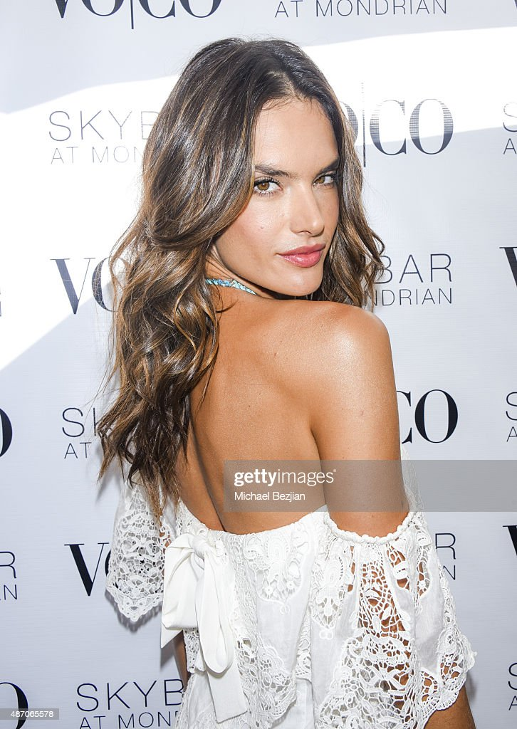 VOCO And Alessandra Ambrosio Host Labor Day Weekend Closing Party  - Inside
