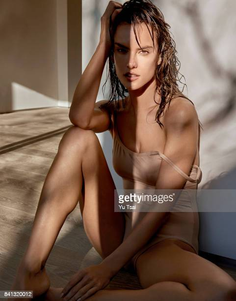 Model Alessandra Ambrosio is photographed for Narcisse on February 28 2017 in Los Angeles CaliforniaPublished Image