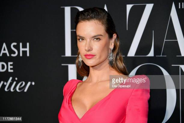 Model Alessandra Ambrosioattends the 2019 Harper's Bazaar ICONS on September 06, 2019 in New York City.