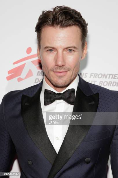 Model Alex Lundqvist attends Gotham Cares Gala Fundraiser For The Syrian Refugee Crisis In Support of Medecin Sans Frontieres and The International...