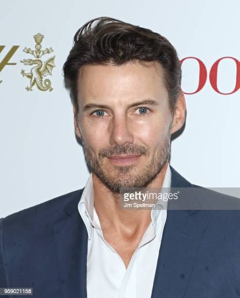 Model Alex Lundqvist attends the screening of 'Book Club' hosted by Paramount Pictures with The Cinema Society and Lindt at City Cinemas 123 on May...