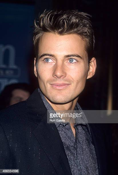Model Alex Lundqvist attends the Third Annual GQ Men of the Year Awards on October 21 1998 at Radio City Music Hall in New York City