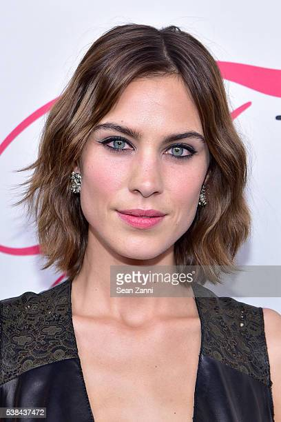 Model Alexa Chung attends the 2016 CFDA Fashion Awards at Hammerstein Ballroom on June 6 2016 in New York City