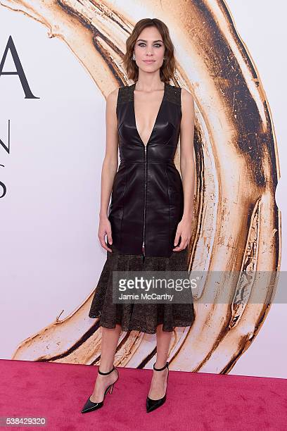 Model Alexa Chung attends the 2016 CFDA Fashion Awards at the Hammerstein Ballroom on June 6 2016 in New York City