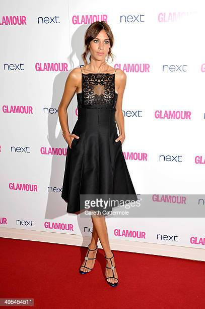 Model Alexa Chung attends the Glamour Women of the Year Awards at Berkeley Square Gardens on June 3 2014 in London England