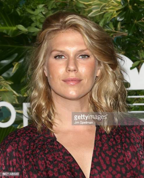 Model Alexandra Richards attends the 11th Annual God's Love We Deliver Golden Heart Awards at Spring Studios on October 16 2017 in New York City