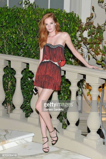 Model Alexina Graham at BALMAIN celebrates first Los Angeles boutique opening and Beats by Dre collaboration on July 20 2017 in Beverly Hills...