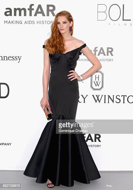 Model Alexina Graham attends the amfAR's 23rd Cinema Against AIDS Gala at Hotel du CapEdenRoc on May 19 2016 in Cap d'Antibes France